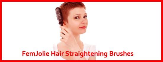 FemJolie Hair Straightener Brush Reviews