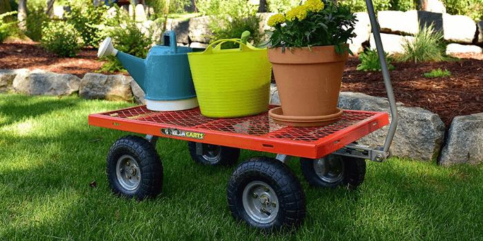 Best Lawn tractor Dump Carts